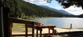 El llac d'Engolasters.