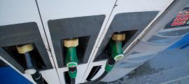 Sortidors d'una benzinera.