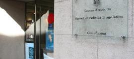 L'edifici on es troba el Servei de Política Lingüística.
