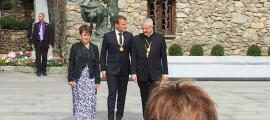 La mesura de gràcia es va acordar entre els dos coprínceps en la visita de Macron.