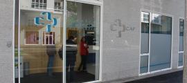L'entrada del nou CAP de Santa Coloma.
