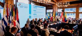 La Reunió de Coordinadors Nacionals i Responsables de Cooperació d'aquest dilluns a Soldeu.