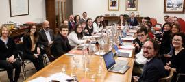 Consell de ministres especial amb joves.