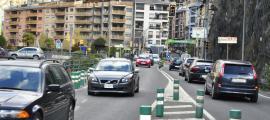 Vehicles circulant per Andorra.