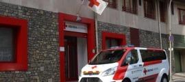 La seu de la Creu Roja Andorrana.