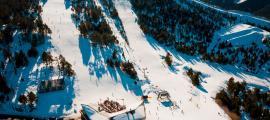 El camp de neu de Vallnord Pal Arinsal.