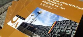 'Història econòmica d'Andorra, segles XX-XXI', un dels llibres disponibles a la biblioteca virtual.