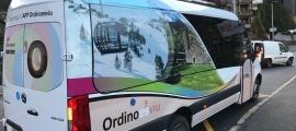 El bus parroquial d'Ordino.