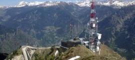 Les antenes del pic de Carroi.