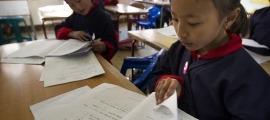 Els diners donats serviran per ajudar als infants de Bhutan.