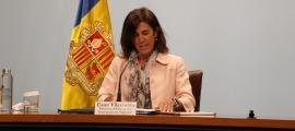 La ministra d'Educació, Ester Vilarrubla.