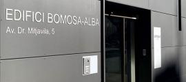 L'edifici de Bomosa a Andorra la Vella.