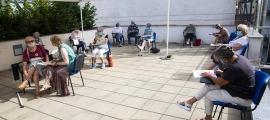 El taller per afrontar situacions d'estrès com la viscuda durant el confinament i les setmanes posteriors que està oferint el Comú d'Andorra la Vella.