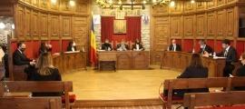 Un moment del consell de comú de Sant Julià de Lòria celebrat aquest matí.