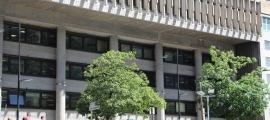 L'edifici administratiu del Govern.