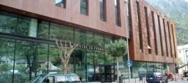 El Centre de Formació d'Aixovall.