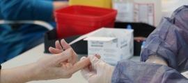 La prova del test d'anticossos.
