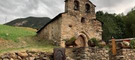 L'església de Sant Miquel de Prats de Canillo.