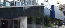 L'edifici comunal on s'ubicarà el centre interactiu de la bicicleta.