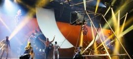 L'estrena de 'Rebel', un dels darrers espectacles del Cirque du Soleil a Andorra.
