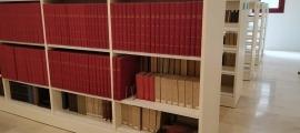Una imatge de les noves instal·lacions de la Biblioteca Nacional.
