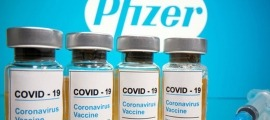 Dosis del vaccí de Pfizer.