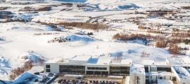 Una imatge de la Universitat d'Akureyri.