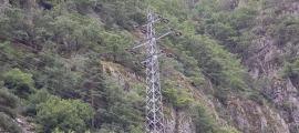 El consum d'energia elèctrica va caure el 2020.