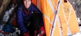 L'escaladora Cathy O'Dowd.