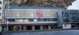 Vista del Centre cultural i de congressos lauredià.