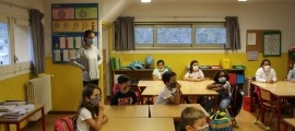 Un centre escolar.