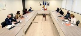 La comissió mixta francoandorrana, aquest matí.