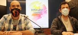 Joao Lima i Miquel Àngel Millan, en la roda de premsa d'aquest matí.