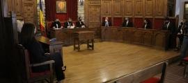 Un moment de la sessió ordinària del consell de comú de Sant Julià de Lòria.