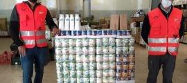 La Fundació Crèdit Andorrà ha aportat 1.164 unitats de productes de primera necessitat.