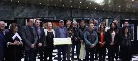 Els guanyadors de l'edició del 2019 dels premis Arts Andorra, l'última celebrada.