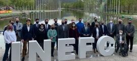 La presentació del projecte de l'INEFC Pirineus.