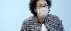 La ministra d'Afers Socials, Joventut i Igualtat, Judith Pallarés