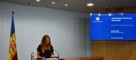 La secretària d'Estat de Salut, Helena Mas.