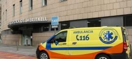 Urgències de l'hospital Nostra Senyora de Meritxell.