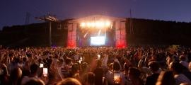 Un concert de l'Andorra Mountain Music d'aquest estiu.