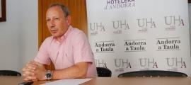 El president de la Unió Hotelera, Carles Ramos.