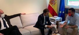 Un moment de la trobada mantinguda a Madrid.