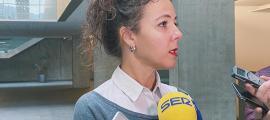 La presidenta suplent del grup parlamentari socialdemòcrata, Judith Salazar.