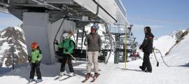 Bona part dels temporers ara atrapats a Andorra treballaven a pistes, però no tots.