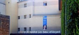 Façana de l'hospital de la Seu.