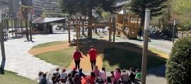 Una de les activitats de les 'Pasquaolímpiades'.