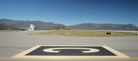 L'aeroport d'Andorra-la Seu.