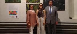 SFG/ Ainara Revuelta, aquest dijous en la cerimònia de lliurament de les distincions.