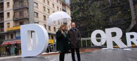 Espot i Marson van unir forces en el darrer dia de campanya electoral